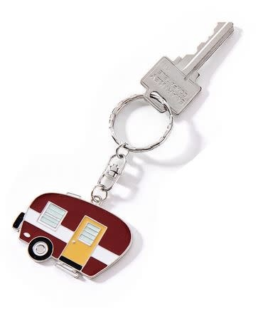 Happy Camper Key Chain (3-Colors)