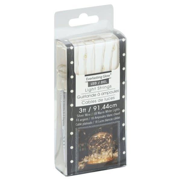 3' LED String Lights Battery