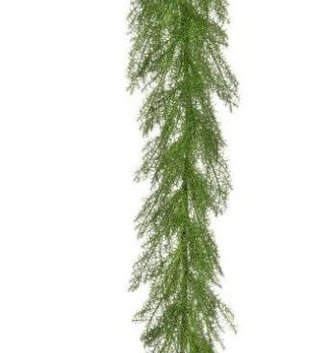 4-ft Natural Touch Asparagus Fern Garland