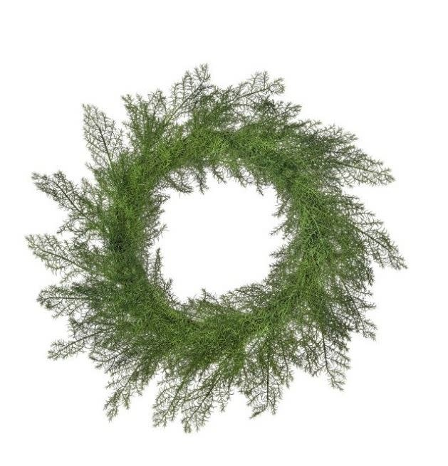 Natural Touch Mini Asparagus Wreath