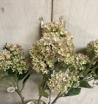 Snowball Hydrangea Branch (2-Colors)