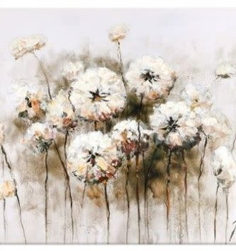 Dandelion Canvas Wall Art