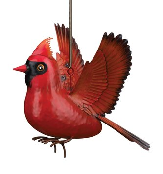 Hanging Metal Bird Bounce (2-Styles)