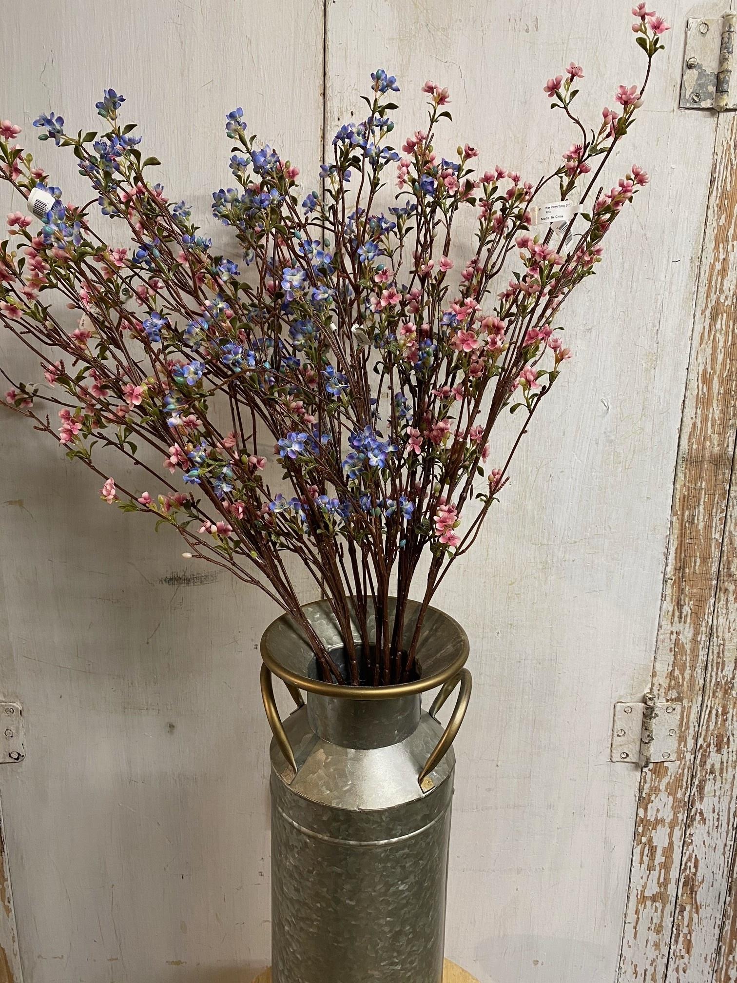 Wax Flower Spray (2-Colors)
