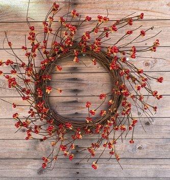 """24"""" Bittersweet Wreath"""