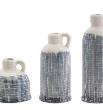 Shades of Blue Ceramic Jug (3-Sizes)