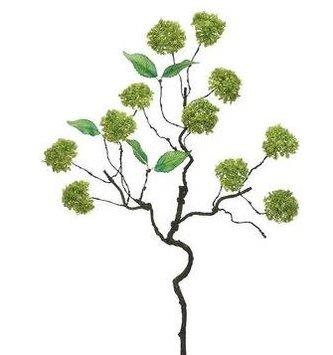 Dark Green Viburnum Twig Spray