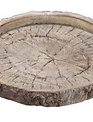 Stoneware Tree Slice Tray (2-Sizes)