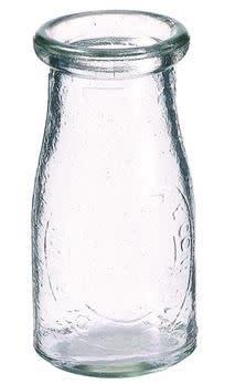Vintage Milk Glass Bottle