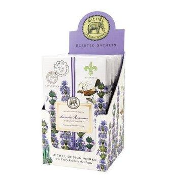 Michel Design Works Lavender Rosemary Scented Sachet