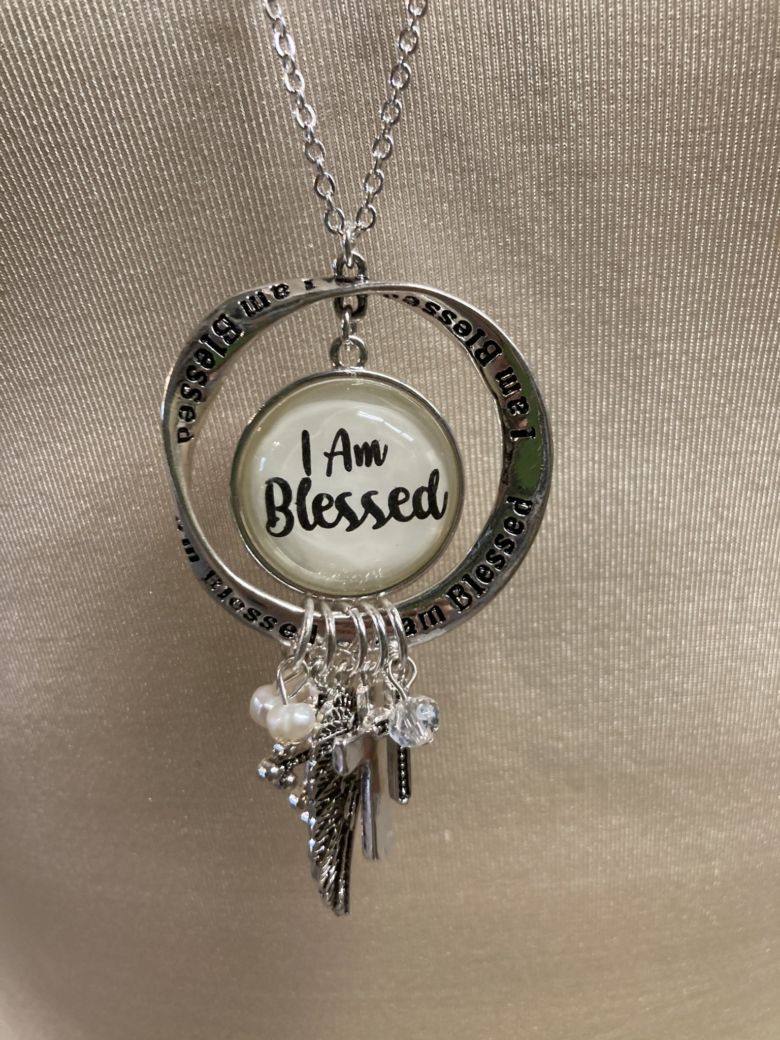 Blessed Multi Charm Necklace