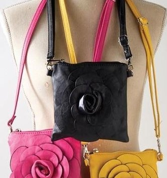 Floral Crossbody Bag (5-Colors)