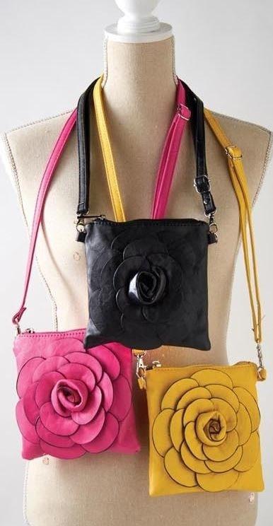 Floral Crossbody Bag (5-Colors)