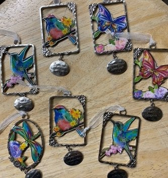 Hanging Inspirational Charms (6-Styles)