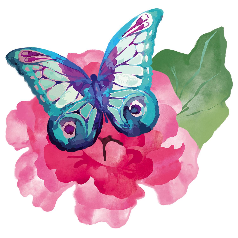 Watercolor Nature Screen Door Saver (6-Styles)