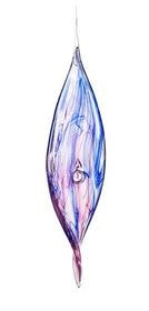 Swirling Art Glass (3-Colors)