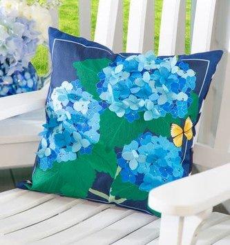 Hydrangea Blossom Pillow
