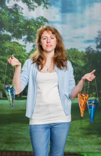 Solar Hanging Art Glass Lantern (3-Styles)