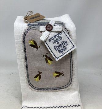 Firefly Summer Nights Kitchen Towel