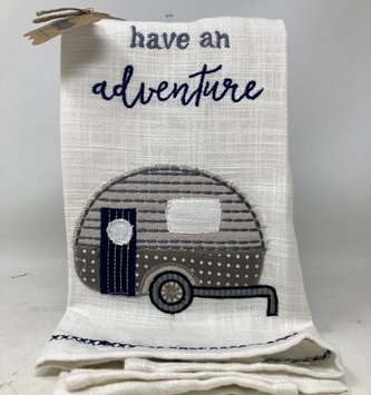 Camping Adventure Kitchen Towel