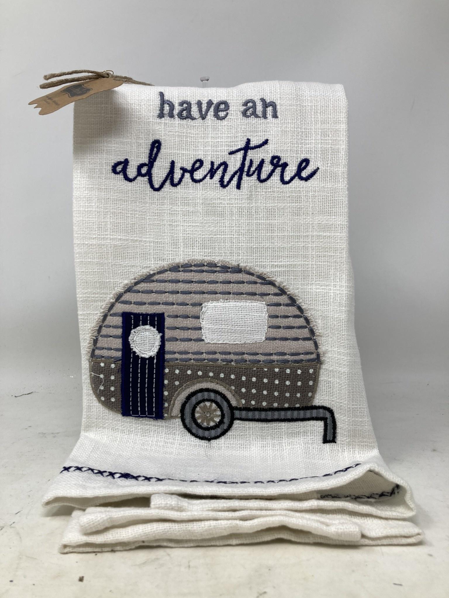 Camping Adventure Kitchen Towel