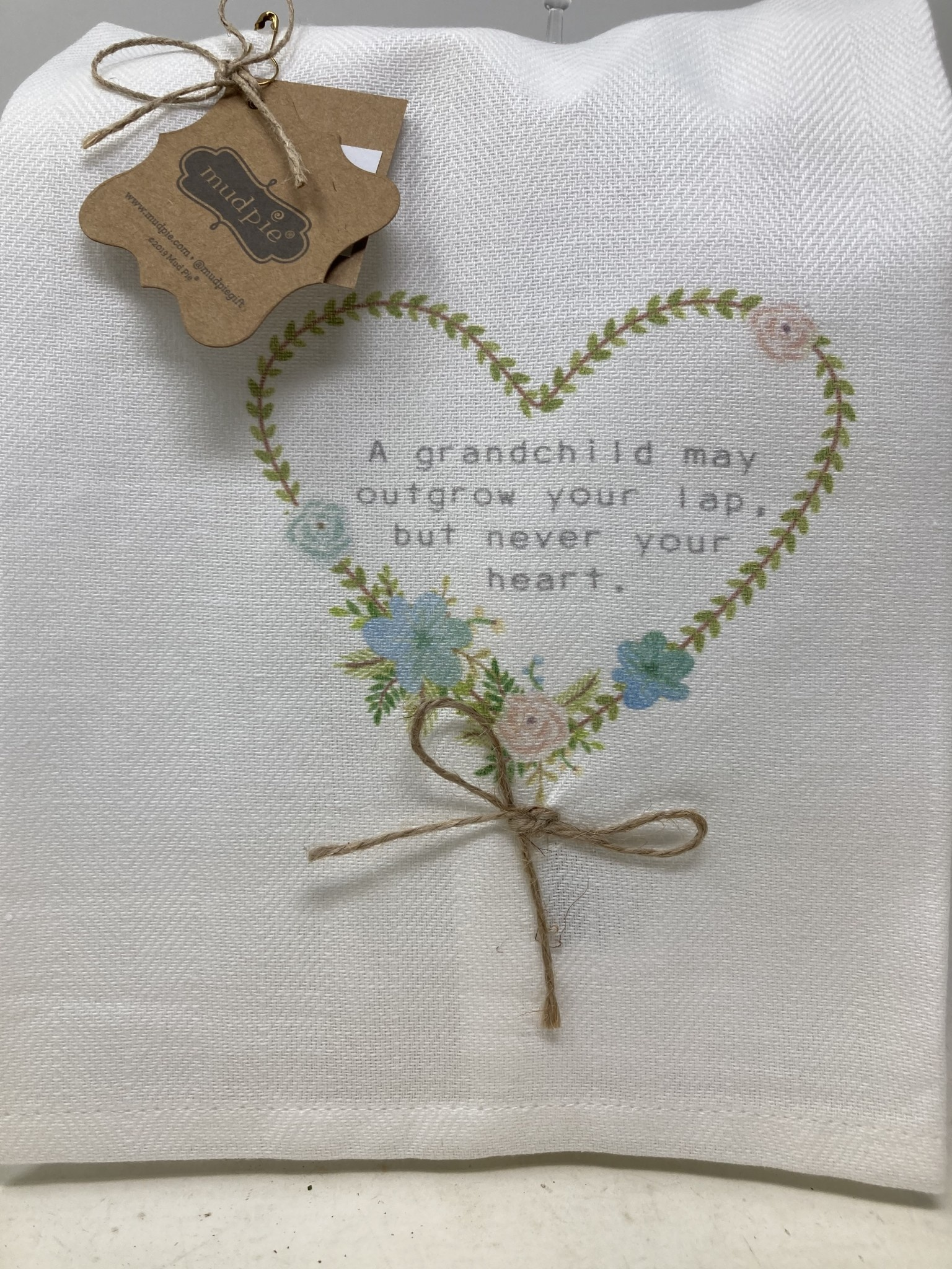 A Grandchild Heart Tea Towel