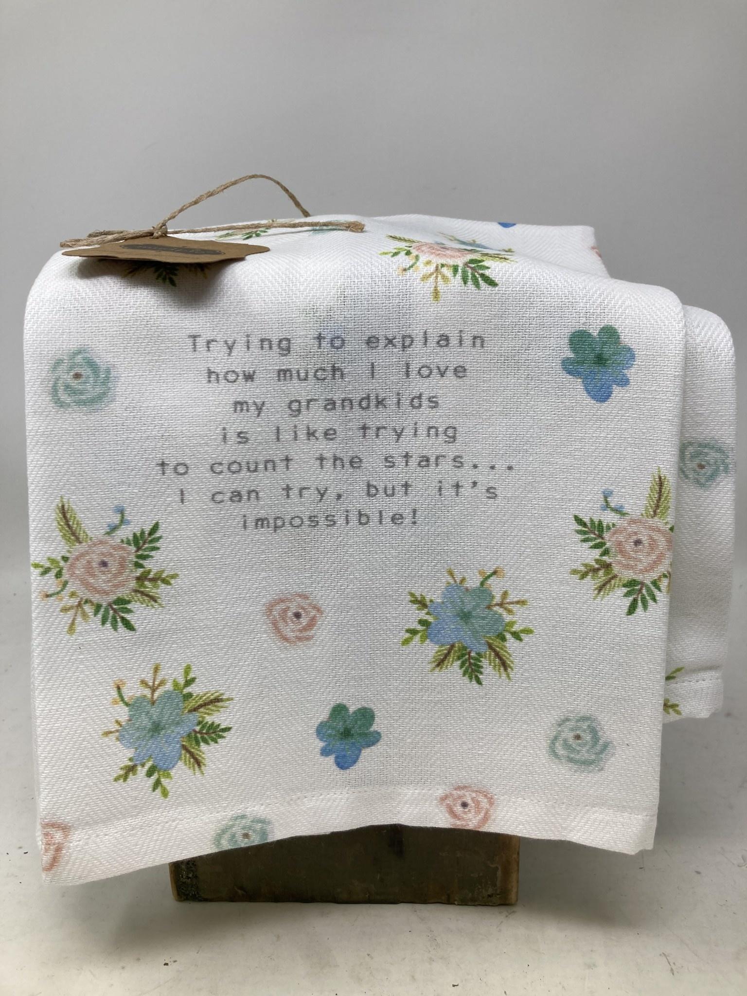 Love For Grandkids Towel