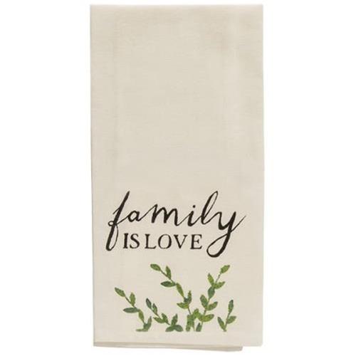 Family Is Love Tea Towel