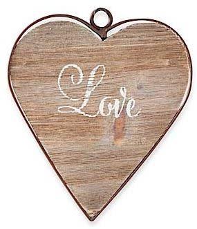 Framed Wooden Heart (6-Styles)