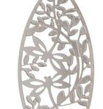Dragonfly Vine Cutout Earrings