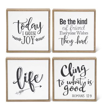 Inspirational Enamel Sign (4-Styles)