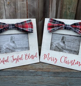 4x6 Distressed Picture Frame (2-Styles)