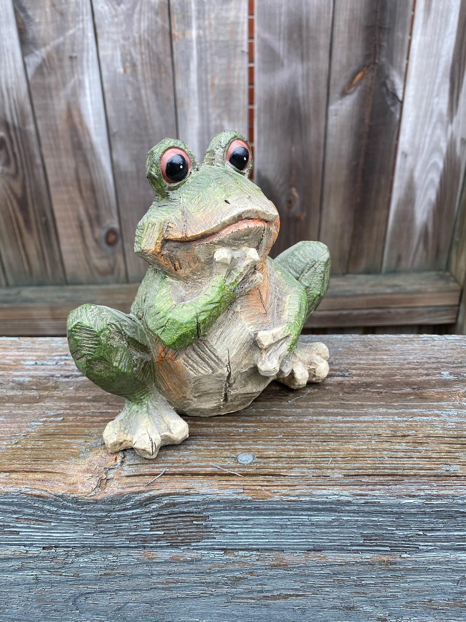 Textured Garden Frog (3-Styles)
