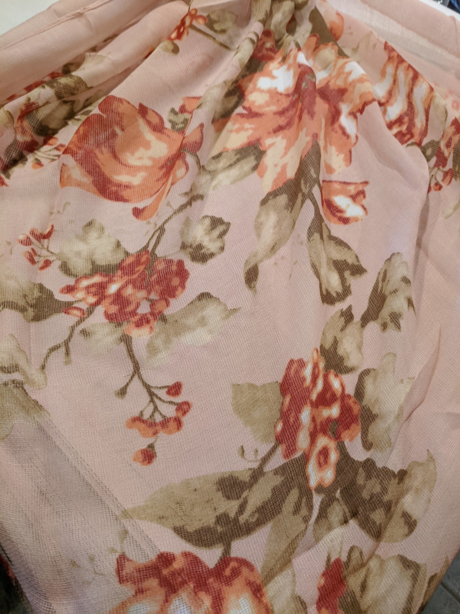 Spring Floral Scarf (2-Colors)