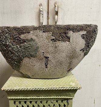 Distressed Moss Container