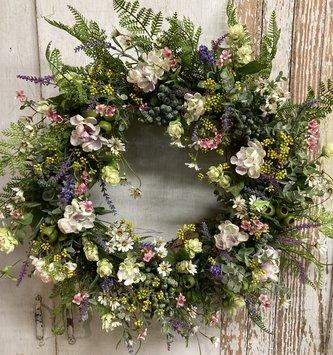 Custom Meadow Dill Wreath
