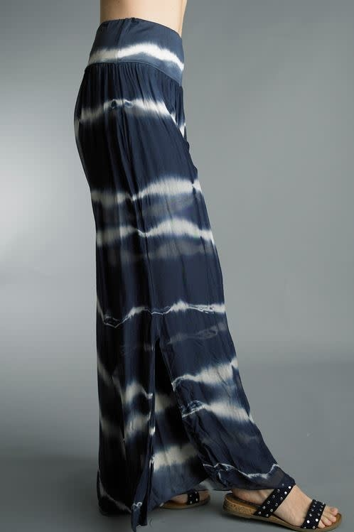 Tempo Paris Navy Tie Dye Pants By: Tempo Paris