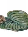 Hedgehog on Leaf Birdfeeder
