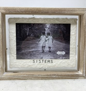 Whitewashed Wooden Frame (3-styles)