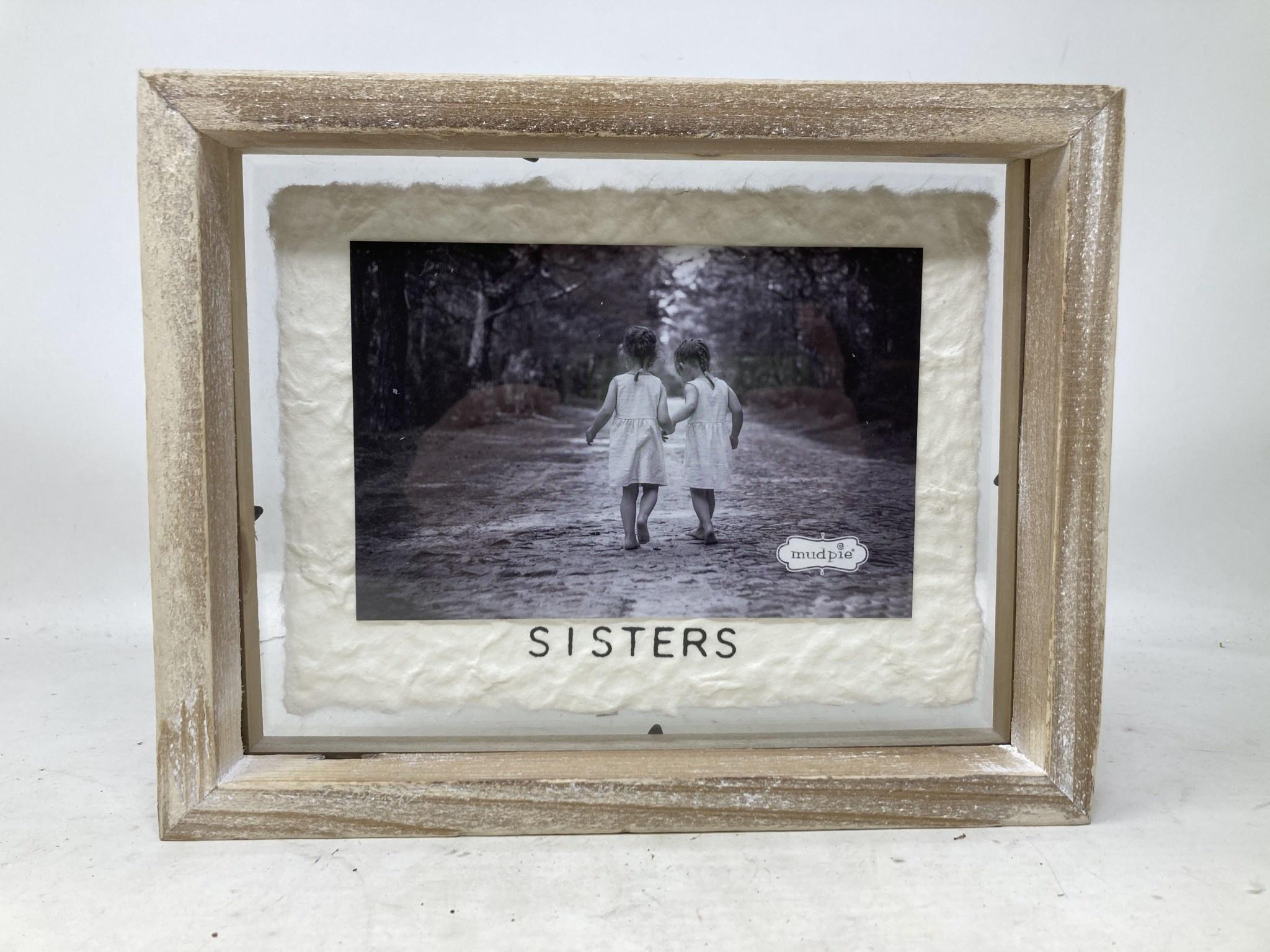 Whitewashed Wooden Frame (3-styles)