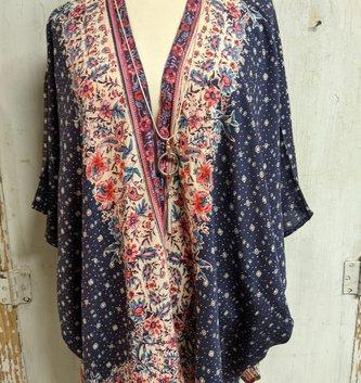 Kimono Midnight Wrap