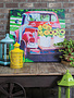 Indoor/Outdoor Red Truck Canvas