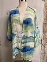 Ruffle Sleeve Kimono Cardigan (3-Sizes)