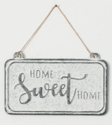 Metal Distressed Hanging Sign (3-Styles)