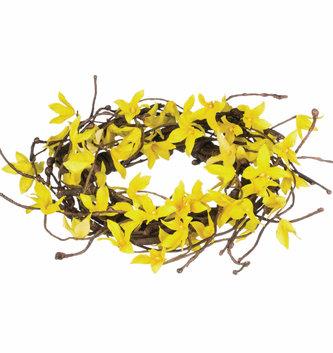 """22"""" Forsythia Twiggy Wreath"""