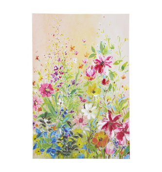 Thousand Bloom Canvas Wall Art