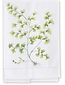 Hand Painted Fern Kitchen Towel (4-Styles)