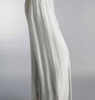 Tempo Paris Silver Silk Pants By: Tempo Paris