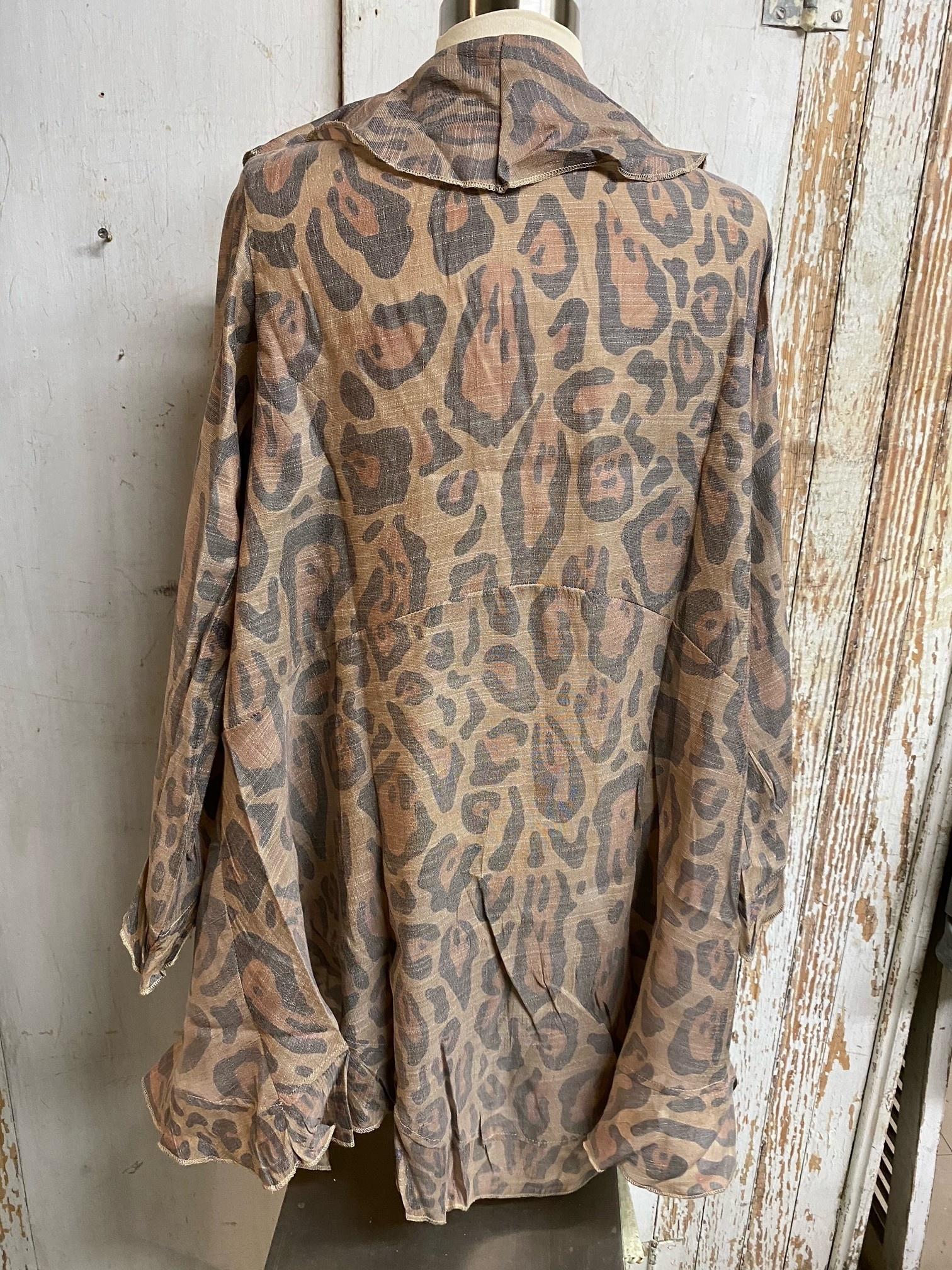 Leopard Light Weight Cardigan
