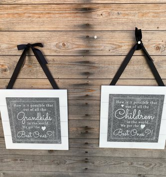 The Best Ones Hanging Wall Plaque (2-Styles)